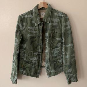 GAP • M • Camo Utility Jacket